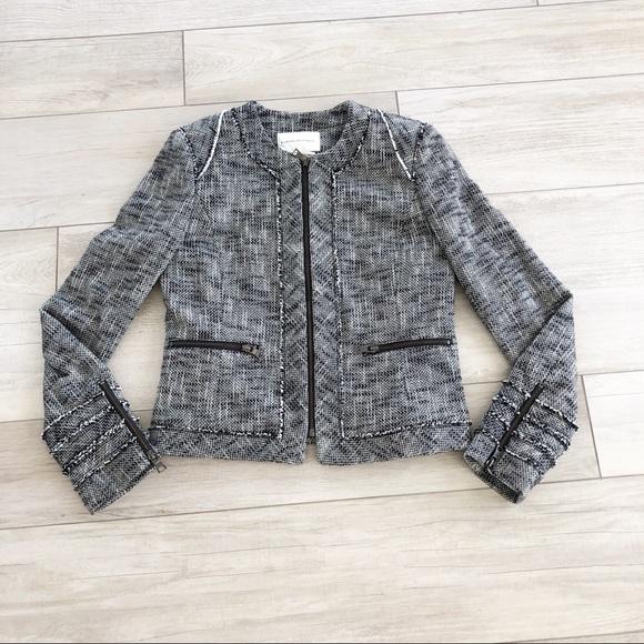 Banana Republic Jackets & Blazers - Banana Republic Black & White Tweed Blazer